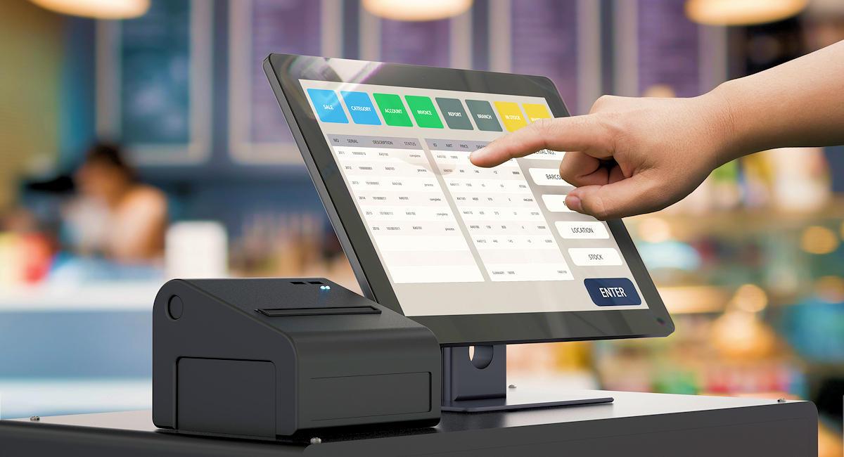 Booster son commerce avec une caisse enregistreuse tactile